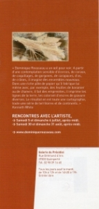flyer 2, Dominique Rousseau - 2008 - Mata atlantica